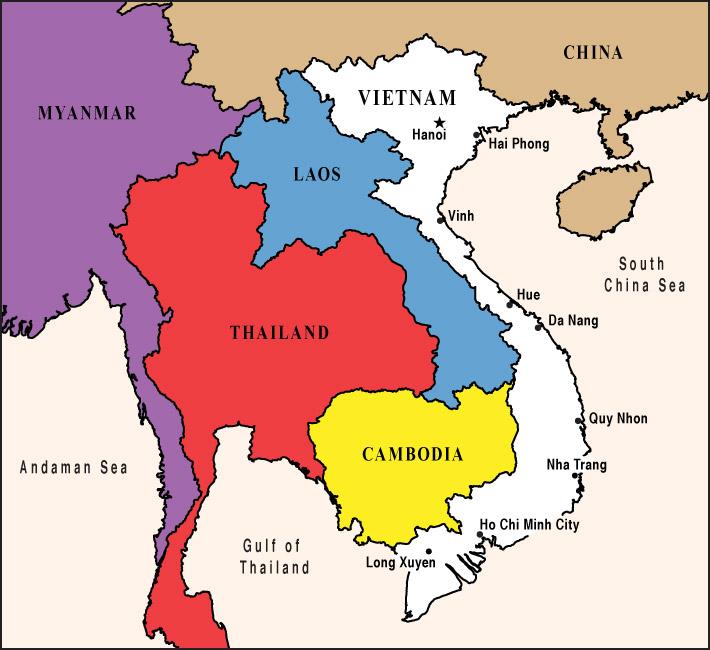 Bilingual Books   VIETNAMESE a language map